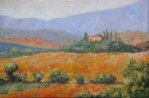 Het huis met de cypressen - Hans van der Vloed