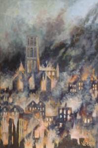 Het bombardement van Rotterdam - Hans van der Vloed