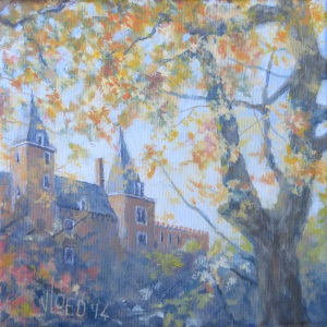 Slot Haamstede - herfst - Hans van der Vloed