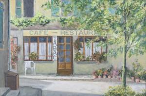 Dorpscafé Cazals - Hans van der Vloed