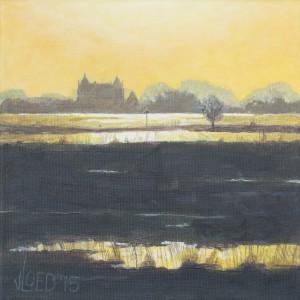 Avondstemming bij Slot Loevestein - Hans van der Vloed