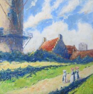 De molen van Jacob van Ruisdael (1) - Hans van der Vloed