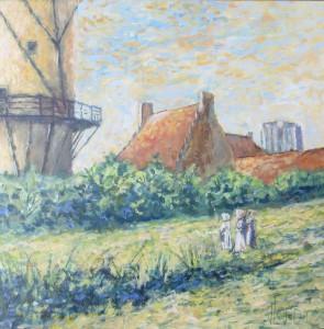 De molen van Jacob van Ruisdael (2) - Hans van der Vloed