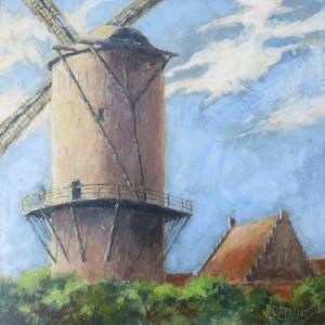 De molen van Jacob van Ruisdael (3) - Hans van der Vloed