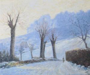 Sneeuw op de Mont Gargan - Hans van der Vloed