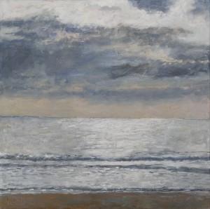 Strand bij Westenschouwen - Hans van der Vloed