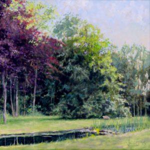 Tuin in Oud-Loosdrecht - Hans van der Vloed