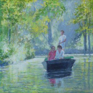 Op de Kromme Rijn - Hans van der Vloed