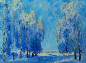 Een winterdag - Hans van der Vloed