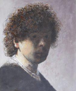 Zelfportret van Rembrandt - Hans van der Vloed